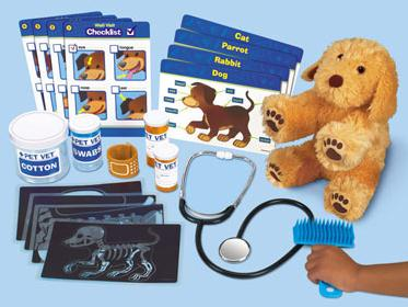 "The ""Pet Vet Center"" - just one of many terrific educational toy offerings."