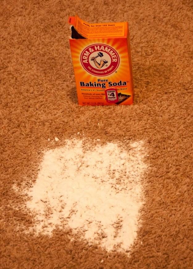 baking soda carpet cleaner