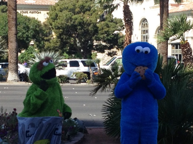 Sesame Street in Sin City?