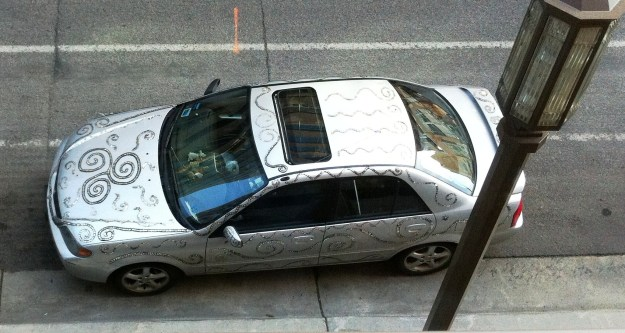 bedazzled car