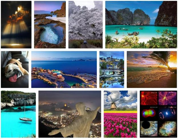 A very small sample of the images at Earth Pics.