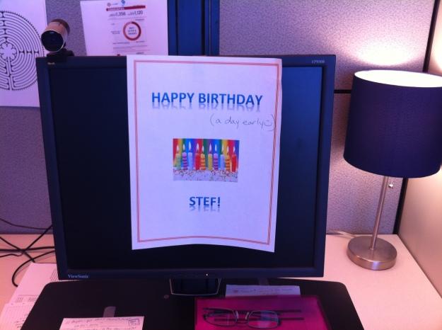 birthday message