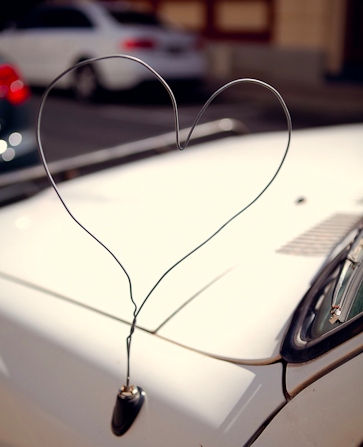 car antenna heart