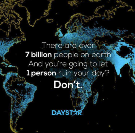 7 billion people
