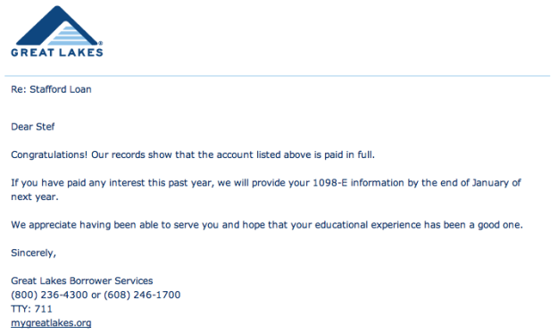 delight_student loan notice