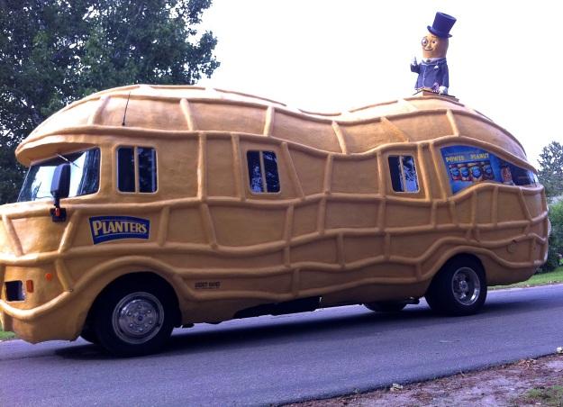 """The """"man"""" himself.  Hi Mr. Peanut!"""