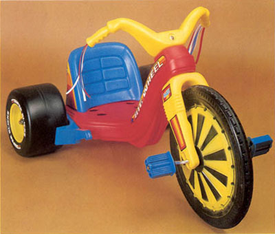 The toy that started my journey down memory lane today: the classic Big Wheel.