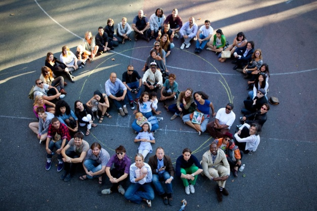 delights_Human Peace Sign New York 2010