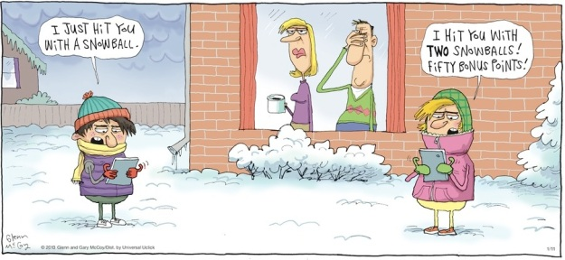 Reality often makes the funniest jokes.