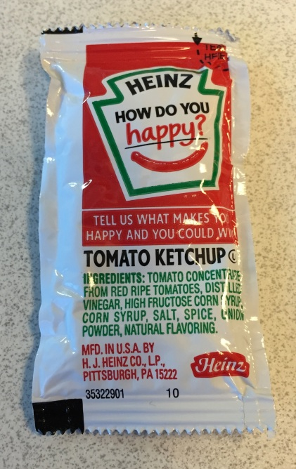 happy ketchup